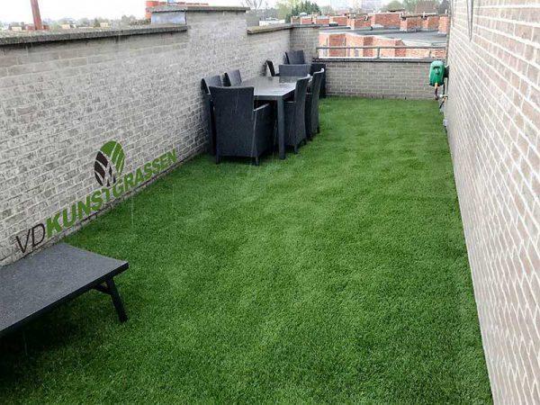 Kunstgras dakterras Hoboken Royal Grass Sense