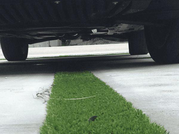 kunstgras parking